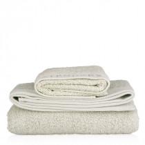 Organic cotton towel, grey 90 x 150cm